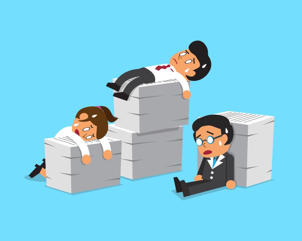 20代のうち50%以上が今の職場に不満あり