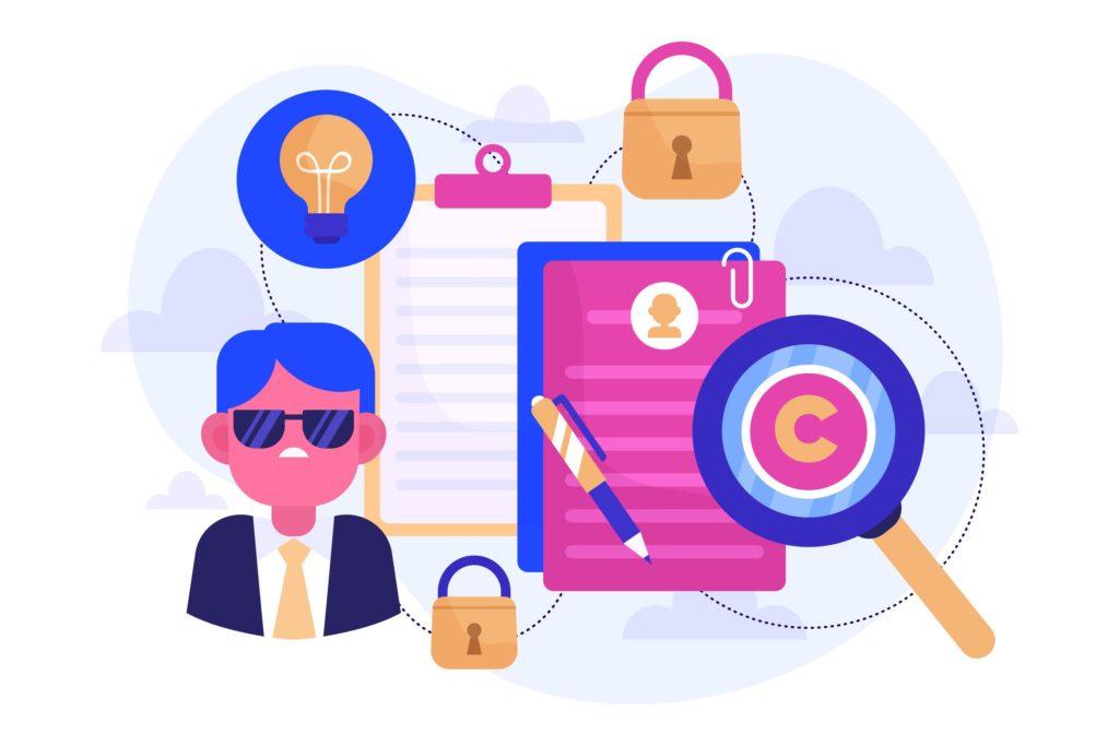 ブログ画像で気をつけるべき著作権について